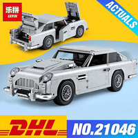 DHLTechnic Toys The 10262 Aston Car Model Martin Set Building Blocks Bricks New Kids Toys Christmas Birthday Gifts