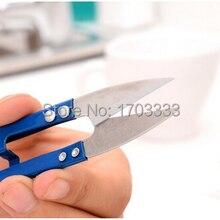 Портативный мини Ножницы Вышивка Вышивание инструмент ножницы Thrum Нитки резак рекламная акция подарок# AL041