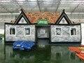 Yard ПВХ Брезента Паб Бар Палатка Дом С Цифровой Печатью Перемещение