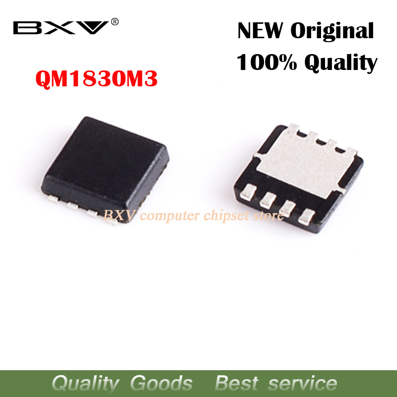 5pcs QM1830M3 QM1830M M1830M MOSFET QFN-8 New Original Laptop Chip Free Shipping