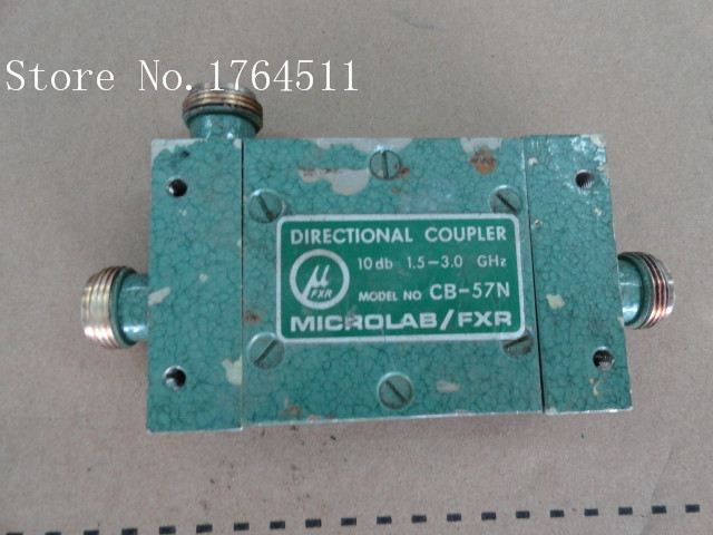 [BELLA] MICROLAB/FXR CB-57N 1.5-3.0GHz Coup:10dB N Supply Coupler