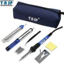 TASP 60W Electric Soldering Iron Kit Welding Gun Set Temperature Adjustable Repair Tool -MSI60