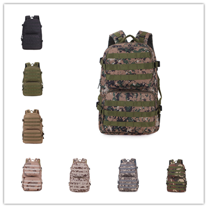 Men Oxford Outdoor Military Army Tactical Backpack Trekking Sport Travel Rucksacks Camping Hiking Trekking Camouflage Bag 2018 a outdoor sports tactical backpack camping men s military bag nylon for cycling hiking climbing trekking camouflage bag