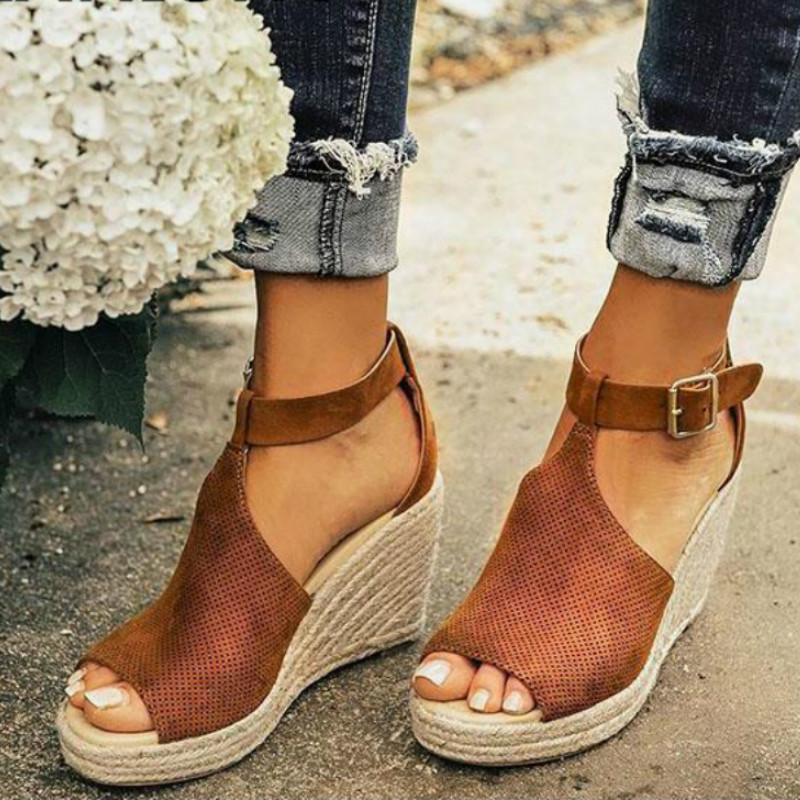 Large Size 34-43 Sexy Summer Women Sandals High heels Shoes Women Rome Platform Wedges high heels dress Sandals women Shoes &65Large Size 34-43 Sexy Summer Women Sandals High heels Shoes Women Rome Platform Wedges high heels dress Sandals women Shoes &65