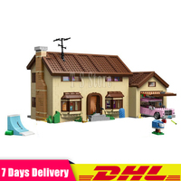 DHL IN STOCK LEPIN 16005 2575Pcs The Simpsons House Model Building Block Bricks Compatibl 71006 Boy