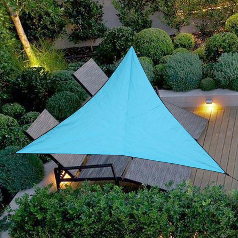 Image 4 - Triangle Sun Shelter Sunshade Protection Outdoor Canopy Garden Patio Pool Shade Sail Awning Camping Picnic Tent-in Sun Shelter from Sports & Entertainment