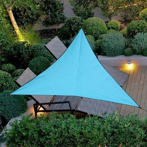 Image 4 - Triangle Sun Shelter Sunshade Protection Outdoor Canopy Garden Patio Pool Shade Sail Awning Camping Picnic Tent