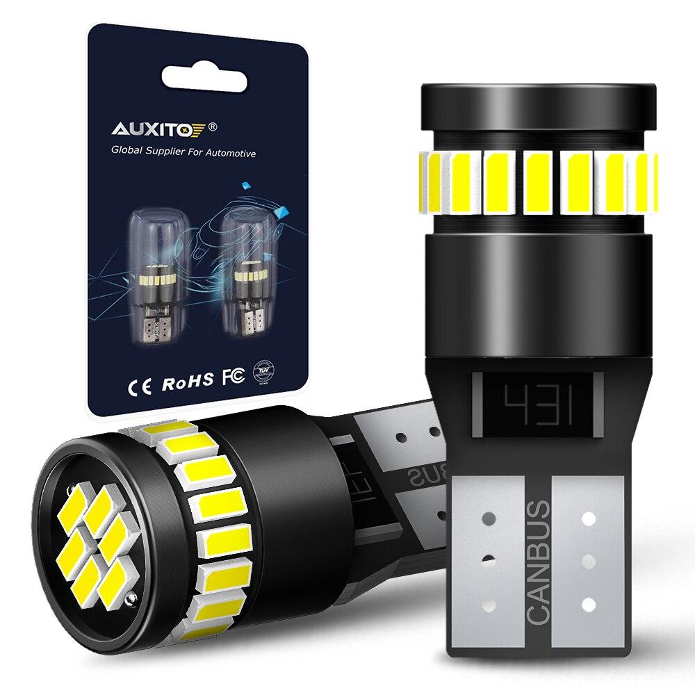 2x t10 led canbus lâmpada w5w 168 194 afastamento estacionamento luzes para mercedes benz w221 w210 w212 w203 w205 w124 w163 a c e slk glk