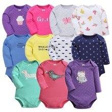 Baby Girl Bodysuits Set Long Sleeves Body Baby Cotton Bodysuits