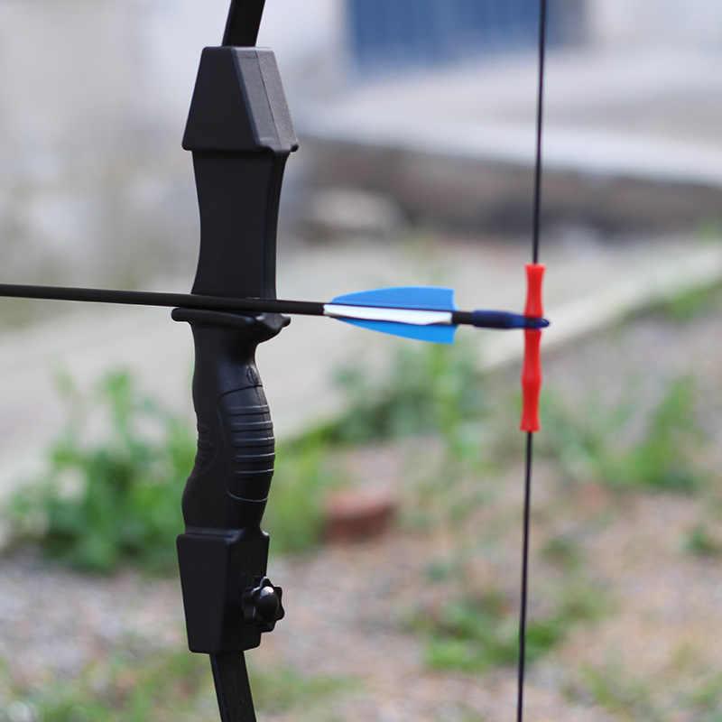 Busur dan Anak Panah Mainan Outdoor Orang Tua Anak Menembak Panahan Mainan Peralatan Memanah Menembak Busur dan Anak Panah Set Anak dan wanita Menggunakan