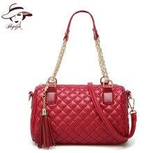 2018 New Fashion PU Woman Handbags Diamond Lattic Ladies Commuter Bag Classic Chain Totes Gril Causual Purse Shoulder Clutch Bag