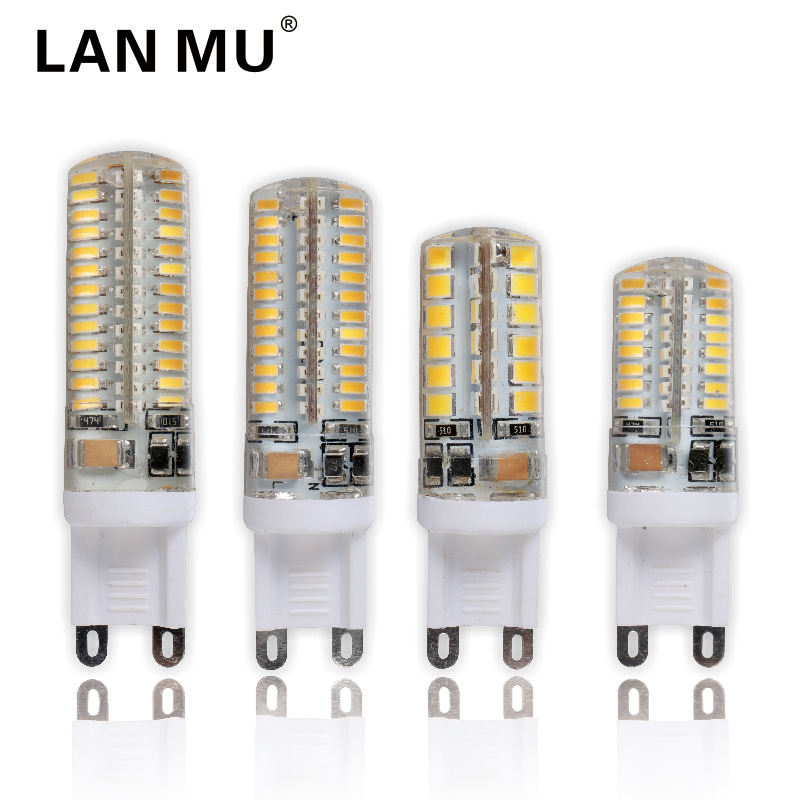 G9 Led Light Bulbs 220V 7W 9W 10W 11W Corn Bulb 360 degrees SMD3014 2835 Lamp High Quality Chandelier Light Replace Halogen Lamp energy efficient 7w e27 3014smd 72led corn bulbs led lamps
