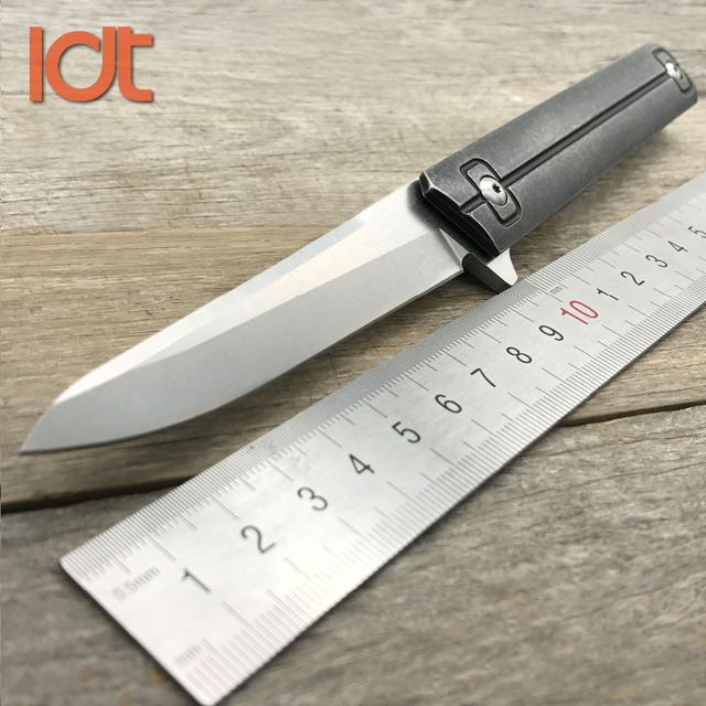 LDT Qwaiken QSE 13lt 접는 나이프 더블 볼 베어링 9Cr18Mov 블레이드 스틸 핸들 캠핑 전술 칼 포켓 사냥 칼