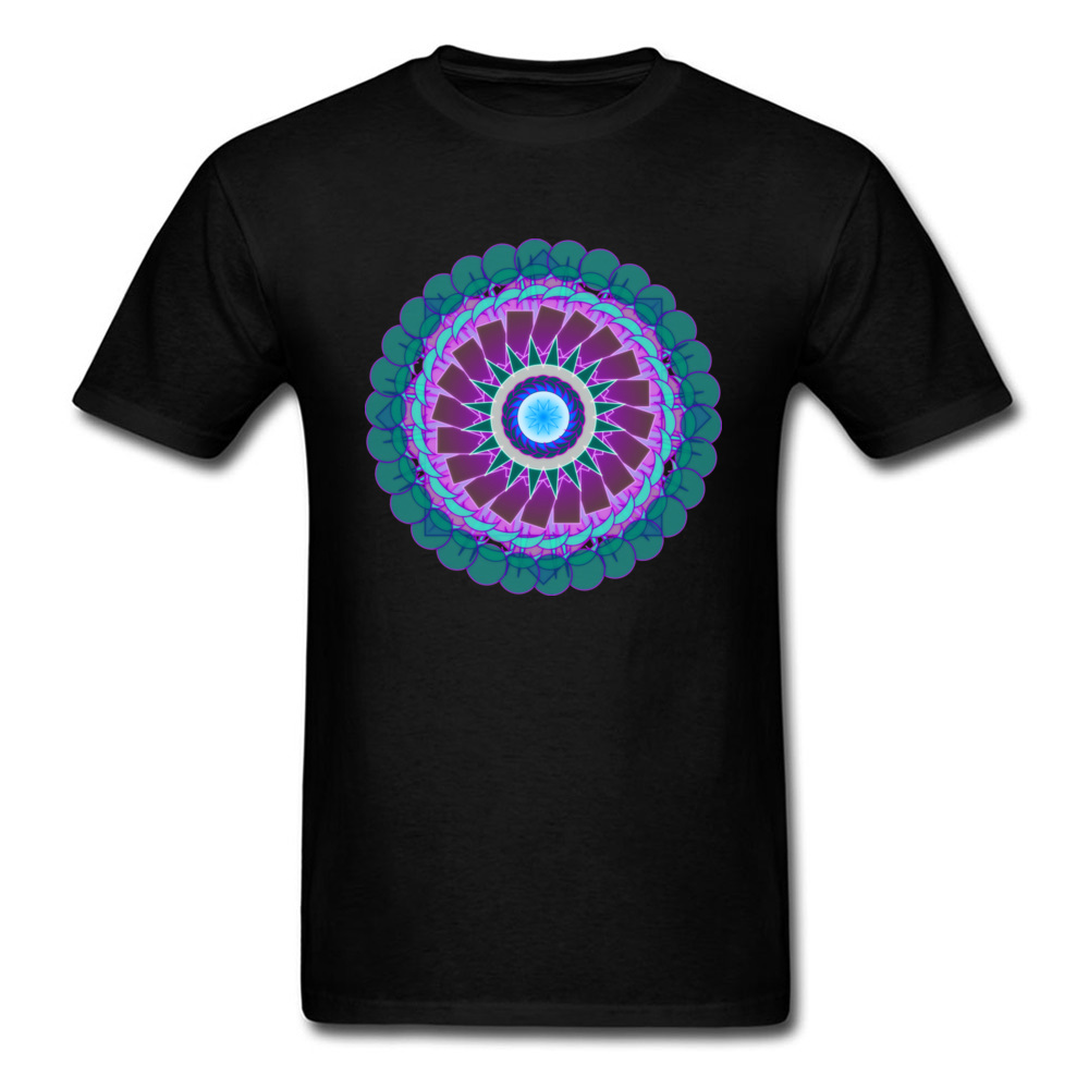 Mandala - Essence of Fluorite_black