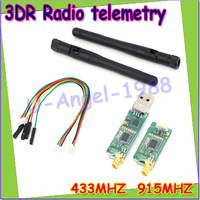 Wholesale 1pcs 3DRobotics 3DR Radio Telemetry Kit 433Mhz 915Mhz Module For APM APM2 5 2 6