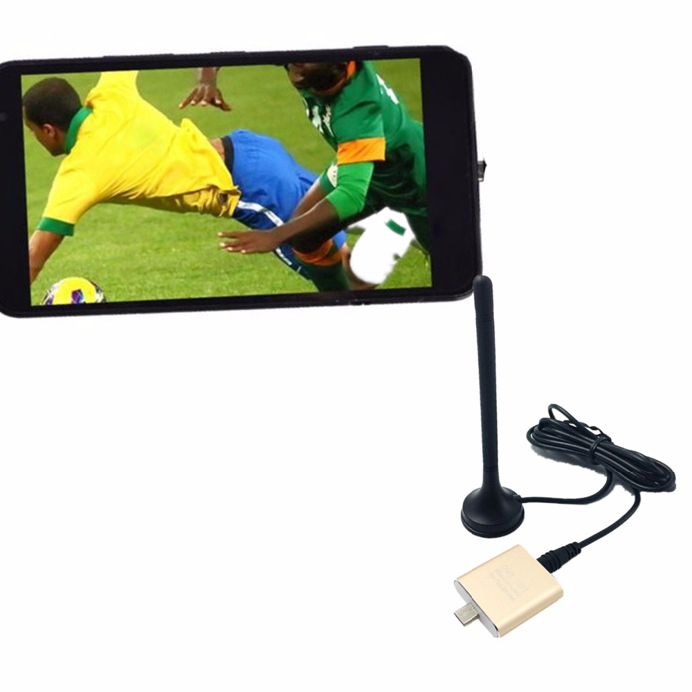 DVB T2 /DVB T Android TV Tuner Pad TV Tuner Digital Satellite Receiver TV Stick Dongle Receiver For Android Phone