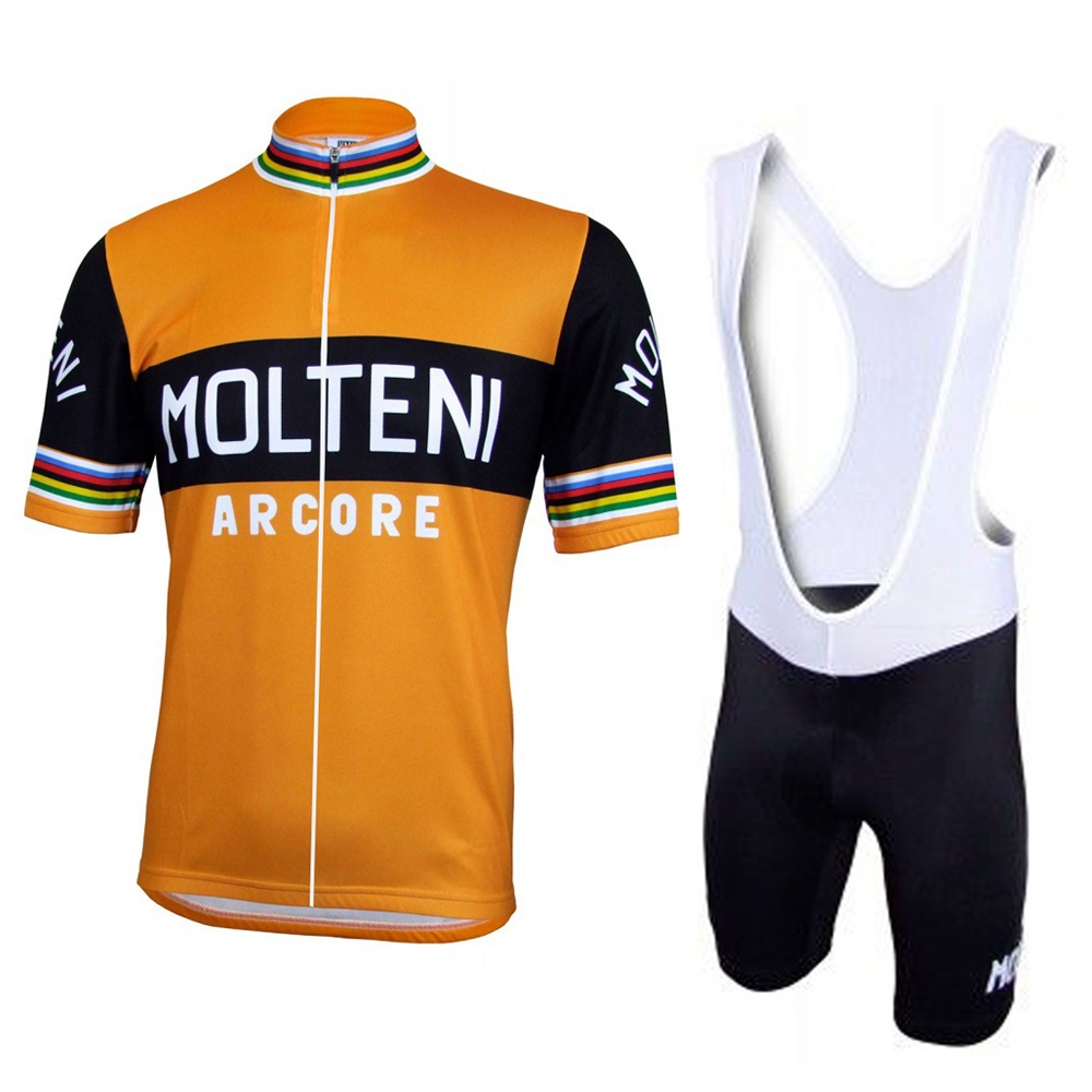 9810981f9 2018 New MOLTENI cycling jersey bike wear men short sleeve jersey set Summer  Breathable bib shorts