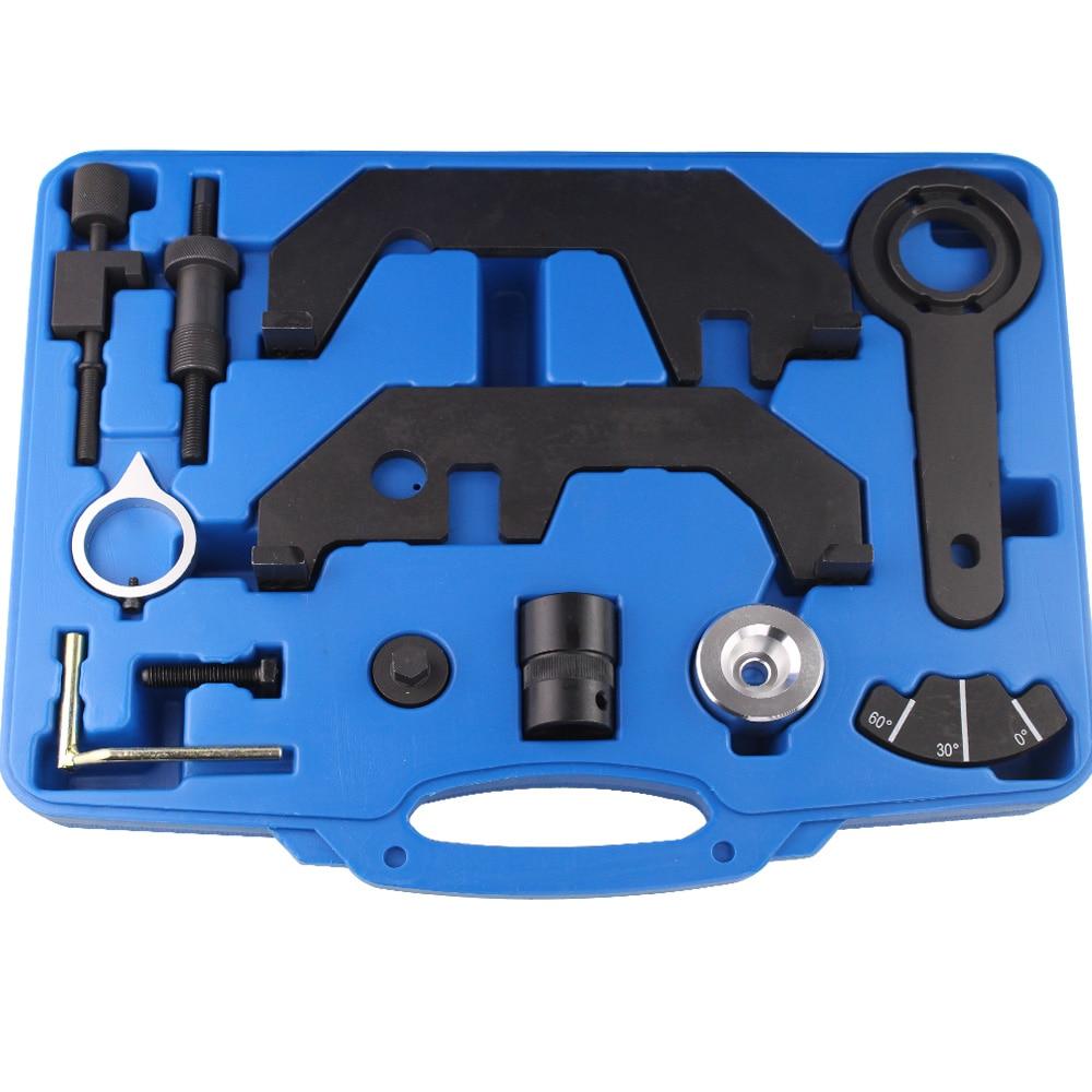 Двигатель распредвала замок инструмент 12 шт автомобилей Gargue сроки инструмент для BMW 730i с 545i 645i 745i 750i полный N62 N62TU от 73 двигатели