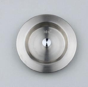 Free shipping 304 stainless steel kitchen sink strainer cover, kitchen sink accessory