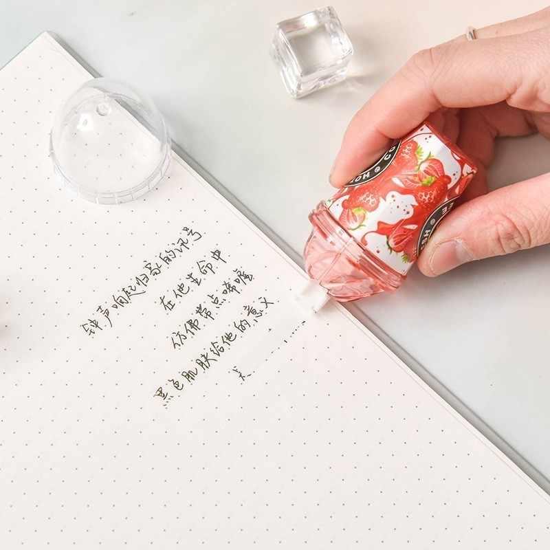 Ellen brook 1 peça bonito kawaii cartoom doces leite xícara de chá sorvete correção fita papelaria escritório material escolar