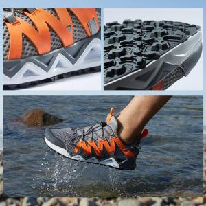 Image 2 - Rax Mens Aqua Upstreams Shoes Quick drying Breathble Fishing Shoes Women Hole PU Insole Anti slip Water Shoes 82 5K463