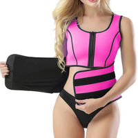 Adjustable Body Shaper Slimming Waist Support Brace...