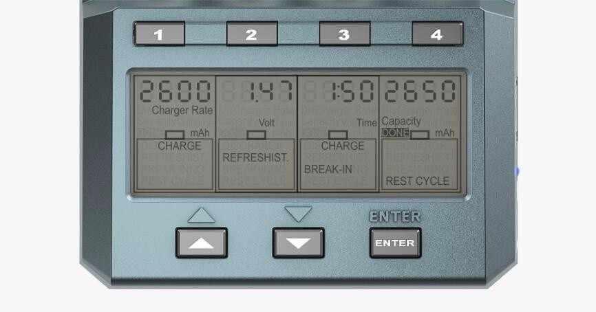 الأصلي SKYRC NC2600 بلوتوث smart 4 فتحات شاحن بطارية سريع شحن على 5th على 7th العالمي ترقية كيت