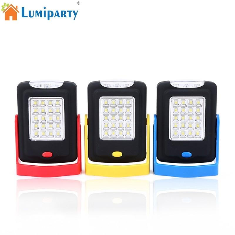 LumiParty 20+3 LED Camping Lamp Emergency Light Spotlight Flashlight for Outdoor Activities