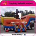 GOOD Quality Nice Price Pirate Ship Bouncy House, Inflatable Castle Slide With Blower,  Inflatable toys. Bouncing Bed Trampline