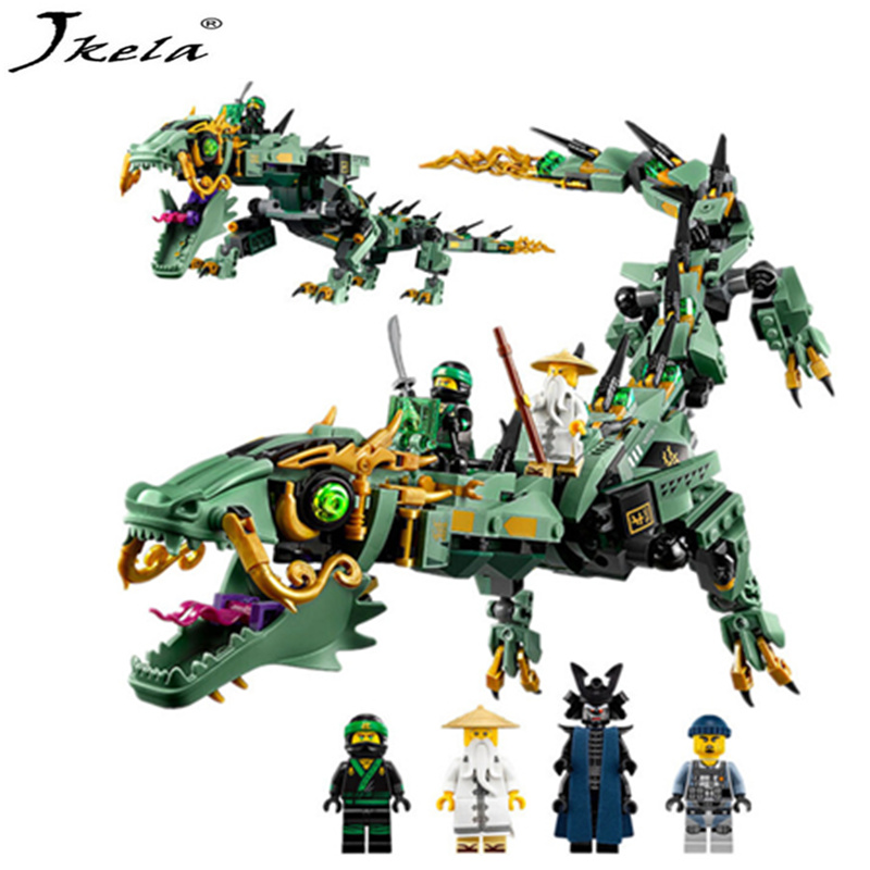 592pcs Movie Series Flying NinjagoINGly dragon Building Blocks Toy Children Model Compatible With LegoINGly NinjagoINGly building block set compatible with lego bang bao fairy series kung fu fight inserted blocks toy mysterious dragon hegemony 6606