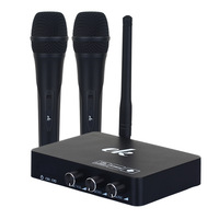 Handheld Wireless Karaoke Microphone Karaoke player Home Karaoke Echo Mixer System Digital Sound Audio Mixer Singing Machine K2