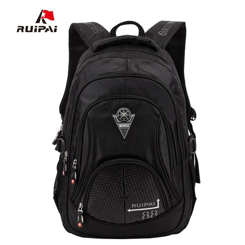 43f5b60b9e3b RUIPAI Polyester School Bags Children s Backpacks Girls Schoolbag Backpack  Mochila Bookbag Shoulder Bags For 3-6 Grade