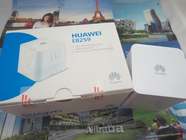 Desbloqueado huawei E8259Ws-2 webcube wi fi hotspot DC - Hspa 900/2100 42 M