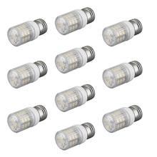 Светодиодные круглые лампы 10 e27 bombilla 48 3528 smd led blanco