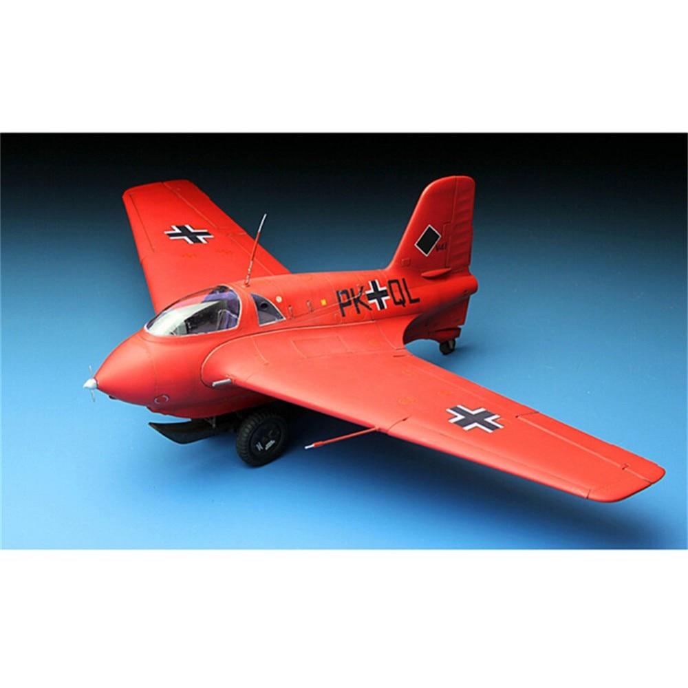 ФОТО OHS Meng QS001 1/32 Messerscmitt Me163B Komet Plane WWII Assembly Airforce Model Building Kits