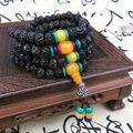 9 mm el budismo tibetano 108 Tianyizi bodhi semillas oración grano cera de abejas Mala collar