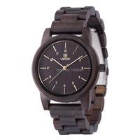 Brand New Natural Vintage Wood Analog Watch Japan MIYOTA Quartz Movement Wooden Watches Dress Wristwatch For