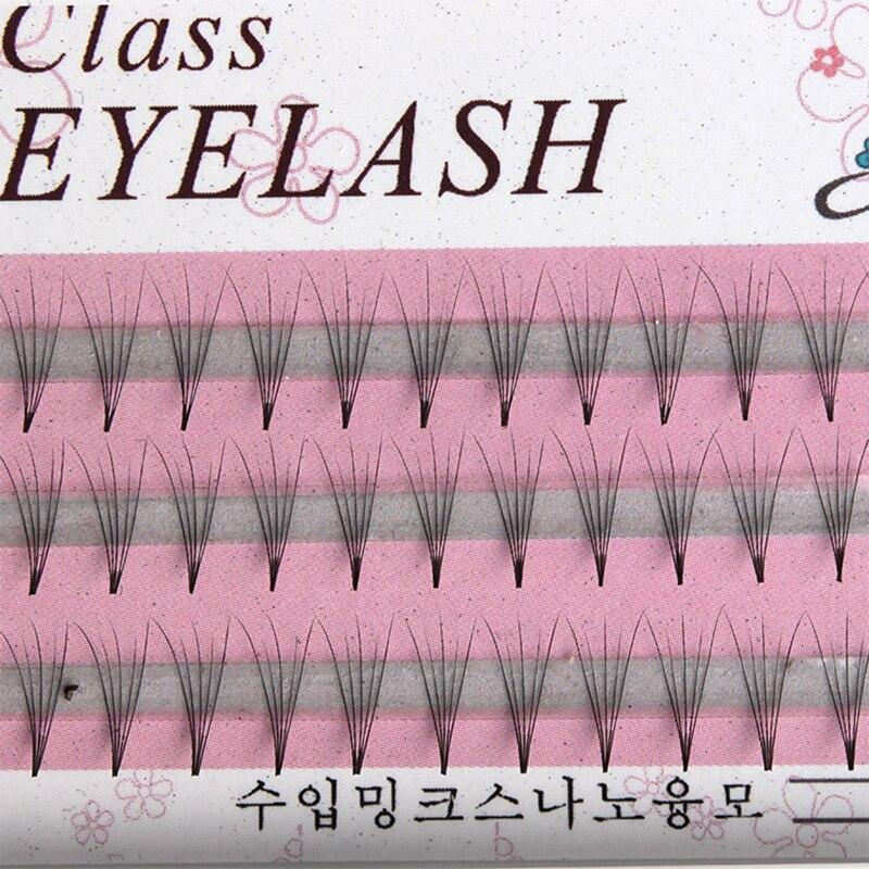 60pcs Professional Makeup Individual Cluster Eye Lashes Grafting Fake False Eyelashes in False Eyelashes from Beauty Health