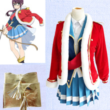 NSOKING Anime Shoujo Kageki Revue Starlight Junna Hoshimi Cosplay Costume custom-made