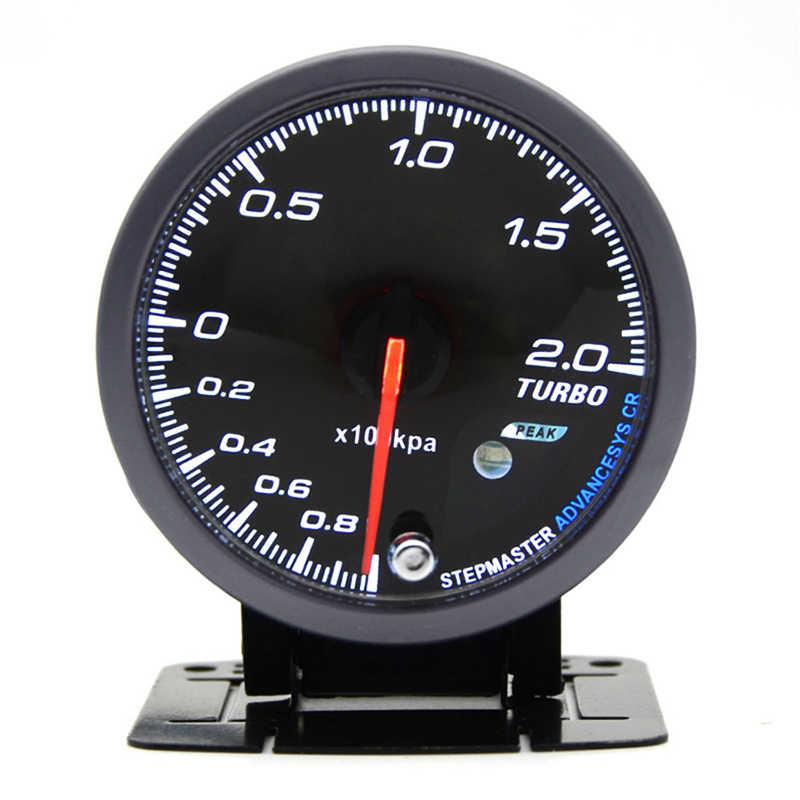 2.5 60 مللي متر سيارة خطوة موتور LED توربو دفعة مقياس فراغ الصحافة ضغط PSI الاستشعار
