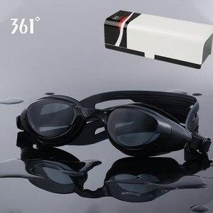 Image 4 - 361 Myopia Swimming Goggles Prescription Swimming Glasses for Pool Mirrored Diopter Swim Goggle for Adult Men Women Children