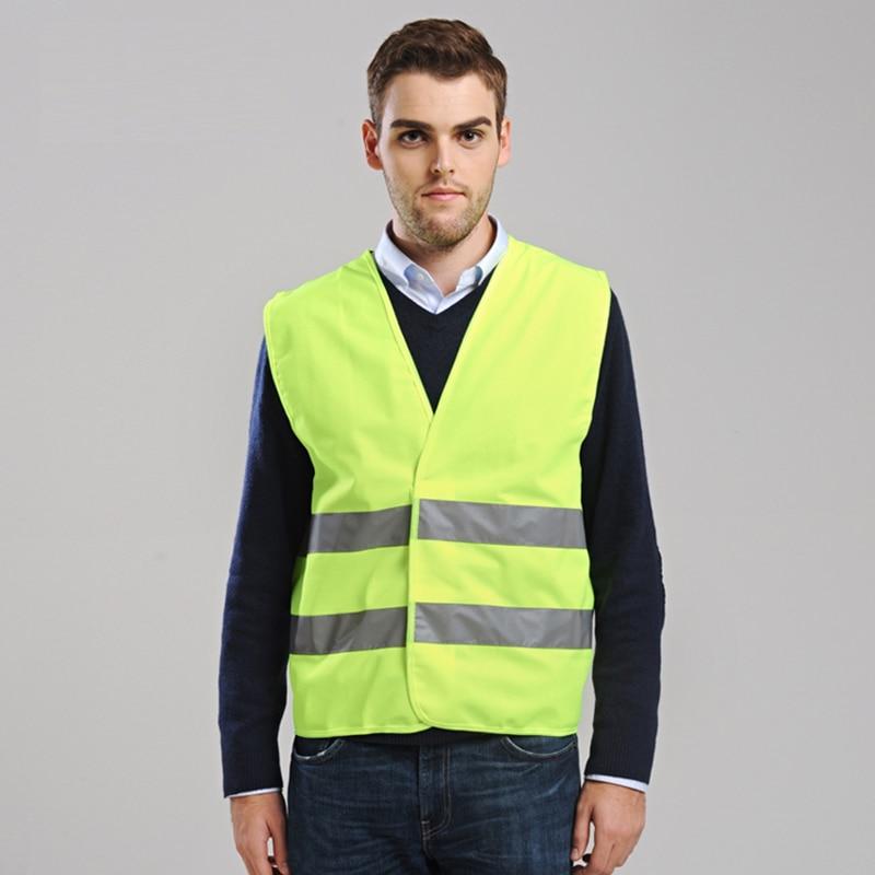 wholesale EN471 hi vis yellow safety vest safety waistcoat gilet free shipping power pro hi vis yellow 92м 0 08mm