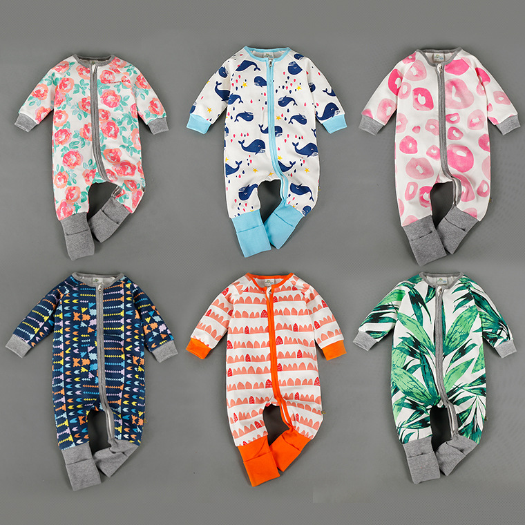 Baby Clothes Baby Rompers Winter Christmas costumes for boys girl Zipper newborn winter Overalls Kid Jumpsuit Children Outerwear baby clothes autumn winter baby rompers jumpsuit cotton baby clothing next christmas baby costume long sleeve overalls for boys