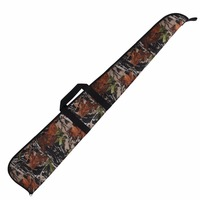 Tourbon Hunting Tactical Shotgun Case Gun Range Slip Padded Protection Bag Carry Heavy Duty 128CM Camo