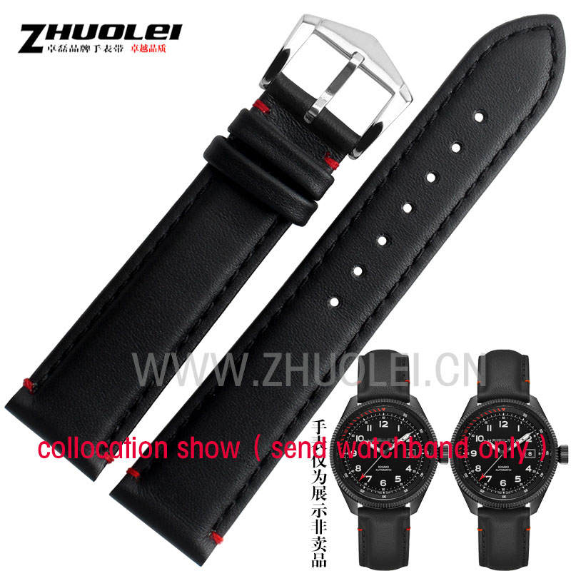 new arrived Genuine leather watchband straps for men H76695733 Wrist watch Belt accessories 20mm 19mm 20mm 21mm 22mm bracelet watchband snake leather waterproof watches straps men fashion accessories bracelet 18mm 19mm 20mm 21mm for ar watchband