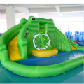 Dual slide Inflatable slide Home use jumping slide kids toy with a pool