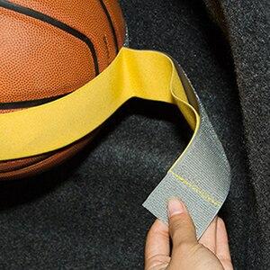 Image 4 - Araba gövde depolama aygıtı cırt cırt sabit sapanlar düz renk sihirli çıkartmalar araba aksesuarı 5cm x 20cm/40cm/60cm/80cm