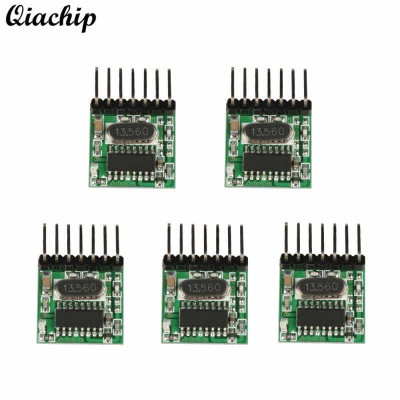 5 pcs 433 MHz Universal Wireless RF Transmitter Belajar Kode 1527 Encoding Modul 433 MHz Remote Control Switch Untuk Arduino Diy