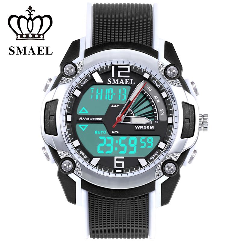 Prix pour SMAEL Sport Montre pour Enfants Étanche Analoge LED Montre Numérique enfants de Montre-Bracelet Enfants Horloge Meilleur Cadeau pour Fille Garçon WS1343