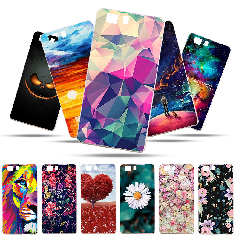 Bolomboy Painted Case For Doogee X5 Silicone Soft TPU Cases Pro Cover Wildflowers Cute Animal Bags 5.0 inch